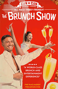 The Brunch Show: Seattle's family friendly brunch show featuring best of dance, musical theatre, glitz and glamour.