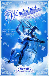Wonderland: Seattle's world class, dinner theatre featuring the best of dance, cabaret, burlesque, glitz and glamour.